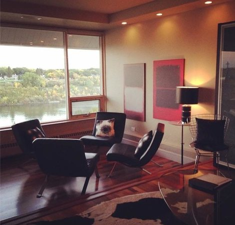 The James Hotel: Penthouse suite!
