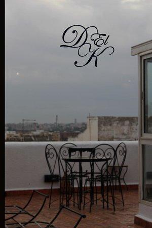 Riad Dar El Kebira : View outside on a rainy day