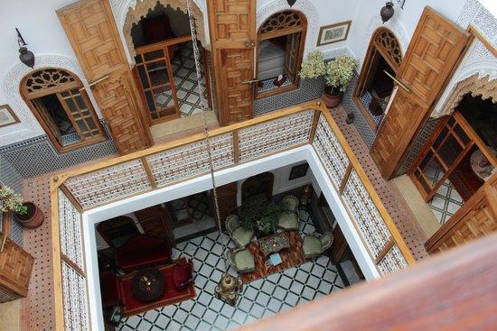 Riad Dar El Kebira : The Courtyard