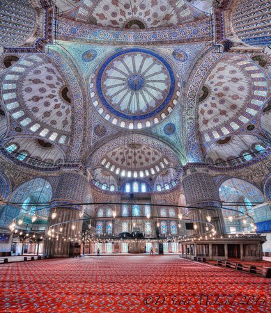 Biz Cevahir Hotel: Blue Mosque Interior