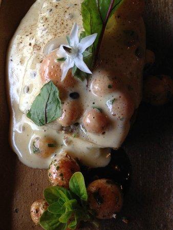 Restaurant La Fleur de Sel: Terrina de setas del bosque (tenia digueñes y changles)