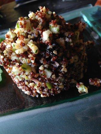 Restaurant La Fleur de Sel: Taboule de quinoa roja y frutos secos
