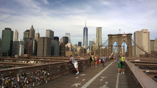 Brooklyn bridge walkway picture of brooklyn bridge brooklyn brooklyn bridge walkway malvernweather Choice Image