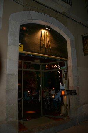 Pla Restaurant: Ingang restaurant