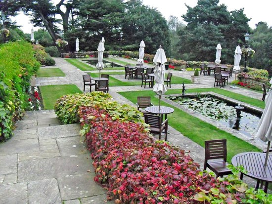 Pennyhill Park, an Exclusive Hotel & Spa: View from the Terrace