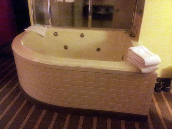 Comfort Inn University Center: A very spacious hot tub for two