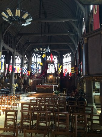 Église Sainte-Catherine : L'interno