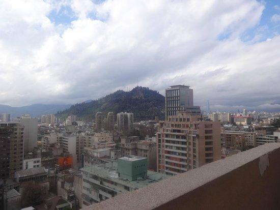 Amistar Apartments : Visto do terraço