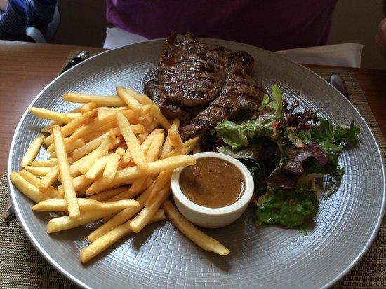 All Seasons Restaurant & Inn: Sirloin steak