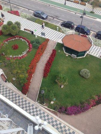 Vista dal balcone Hotel Royal