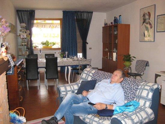 A Casa Tua B&B: Zona liveing: molto curata!