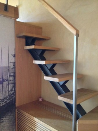Monastery Boutique Hotel: Stairs to bedroom loft