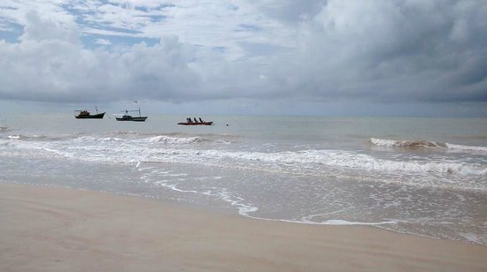 Rio da Barra Beach: Águas tranquilas!