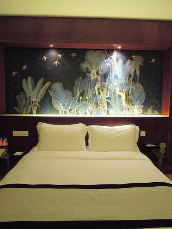 bed (Grand Skylight Hotel Shenzhen)