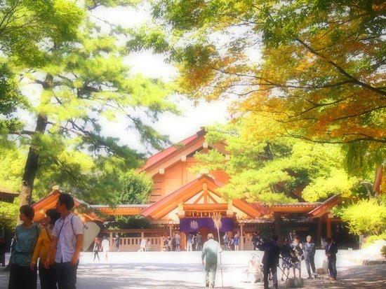 Atsuta Jingu Shrine: ご祈祷をお願いしました