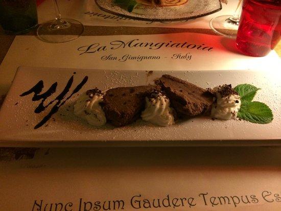 La Mangiatoia: Mattonella di cioccolato