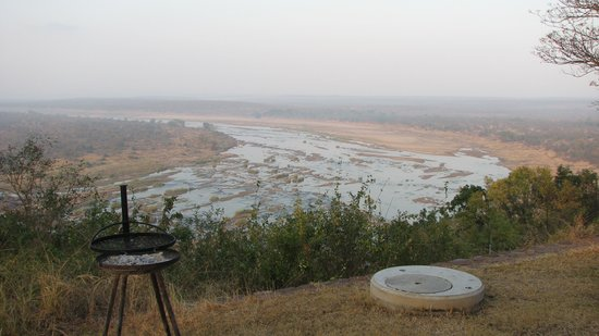 Olifants Rest Camp: view from bungalow