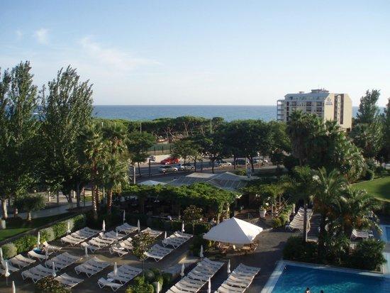 Aqua Hotel Onabrava & Spa : sea view from our room 436