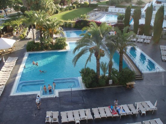 Aqua Hotel Onabrava & Spa : view from our room 436
