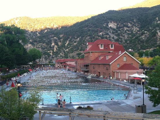 Glenwood Hot Springs Lodge: The reason why we went!