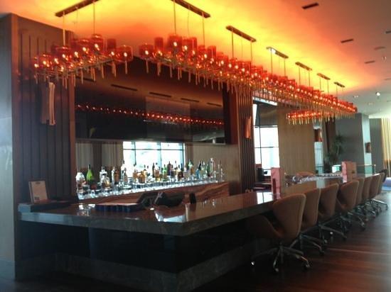 Radisson Blu Hotel & Spa - Istanbul Tuzla : Bar at the lobby level