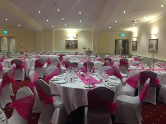 Hackness Grange Country House Hotel: The function room