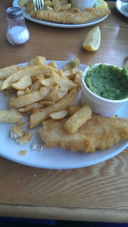 C Fresh Fish and Chips: Sorry eaten the end