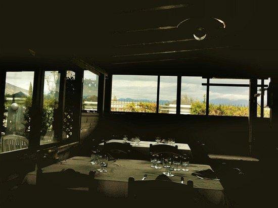 Vista dall 39 interno foto di ristorante la colombaia di for Ristorante la vista