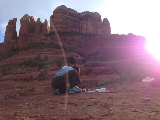 Sedona Red Rock Tours: The Crystal Grid Network: Cathedral Rock Crystal Grid