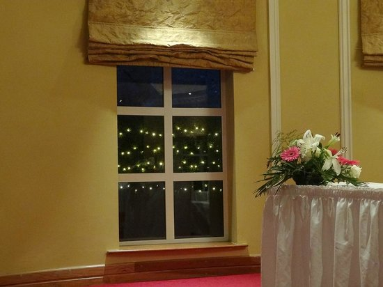 Fitzgerald's Vienna Woods Hotel : Special little touches like the lights outside the window