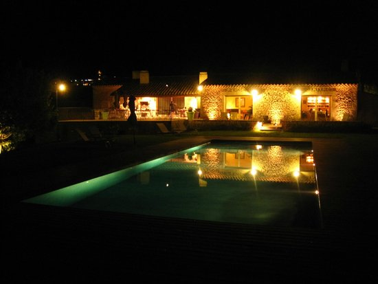 Le Mas del Sol : Evening view of the house