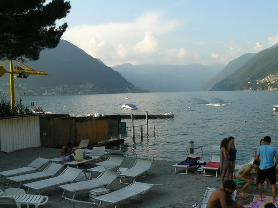 Hotel Ristorante Vapore: View from Hotel.