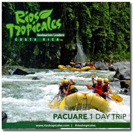 Rios Tropicales: Pacuare River 1 day Trip