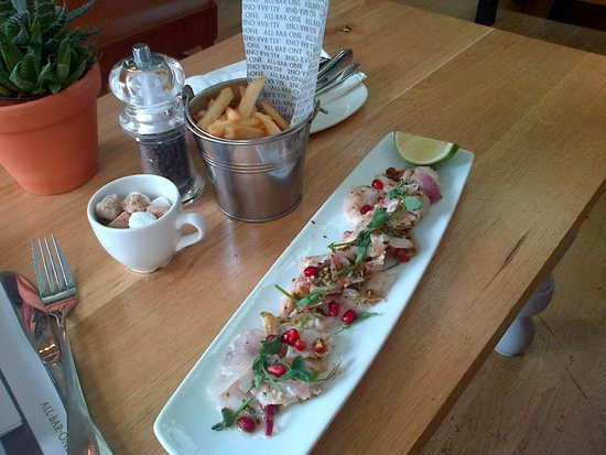 All Bar One - Glasgow : My Delicious Peruvian Style Sea Bass! Xx