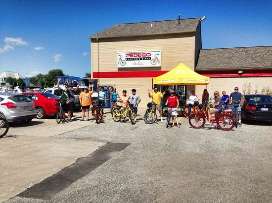 Harrison Township, MI: 2nd Annual POG Bike Ride Departure