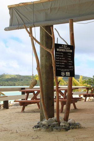 Aitutaki Village: Weather forecast ;-)