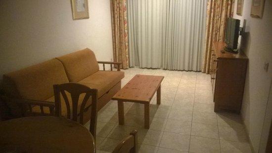 Zahara Rentalmar: living room