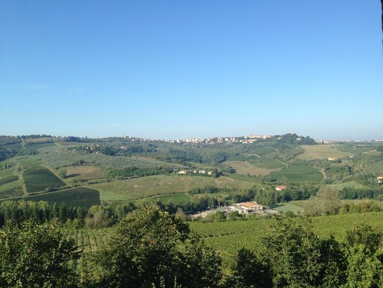 Montespertoli, Włochy: view from our room