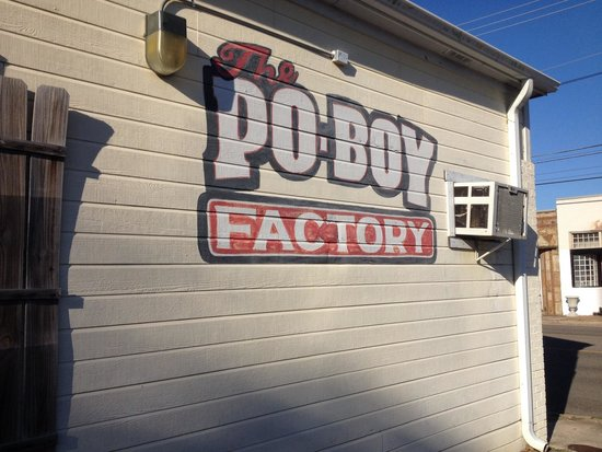 The Po Boy Factory: Great Place To Eat
