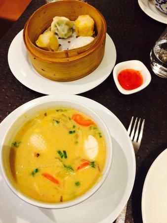 Koh Samet : Suppe für 8€. Dim sum für 8€