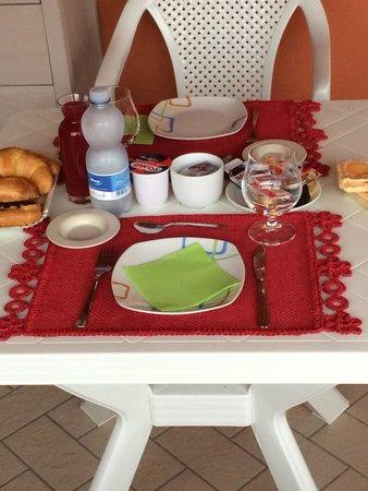 B&B I Quattroventi : colazione