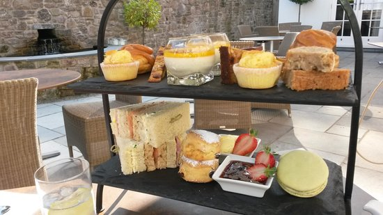 Grove of Narberth: afternoon tea a must here