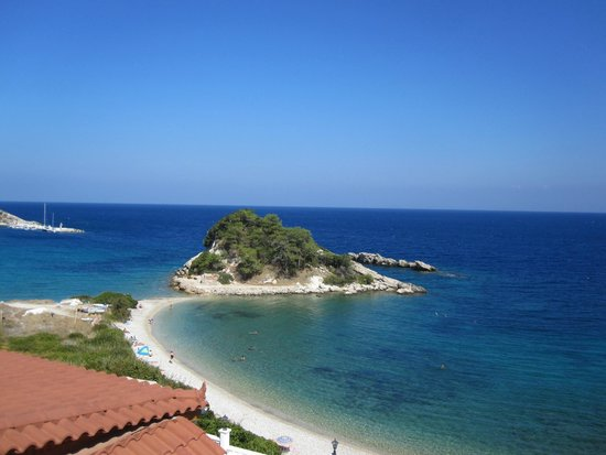 Sunrise Beach Hotel: view from the balcony