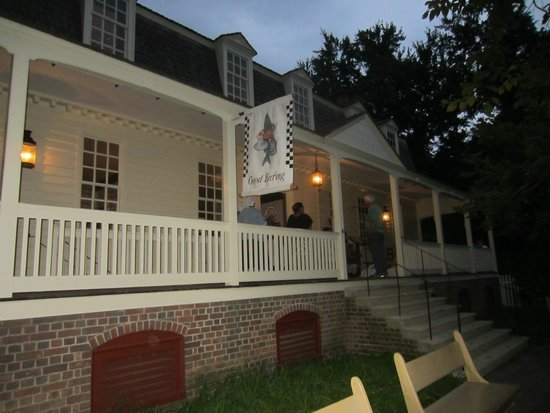 Christiana Campbell's Tavern-Colonial Williamsburg: The Tavern