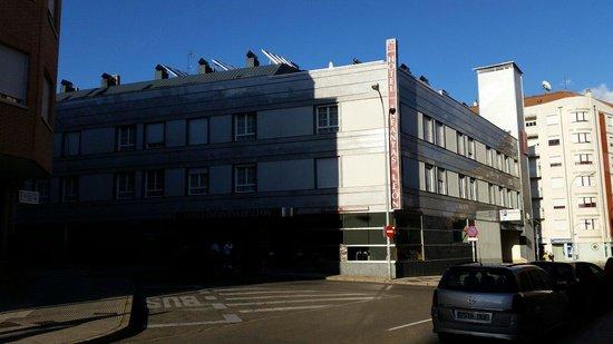 Infantas de Leon Hotel: Vista exterior el 20.09.2014
