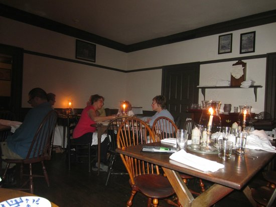 A Campbell S Tavern Colonial Williamsburg Main Dining Room
