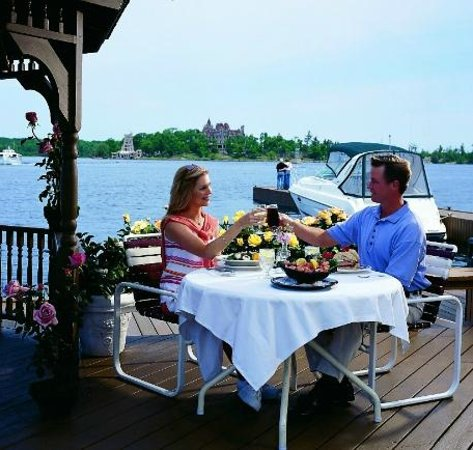 Windows On The Bay: Enjoy Lunch with a view on our Channelview Deck
