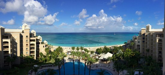 The Ritz-Carlton, Grand Cayman: View from our PH level room.