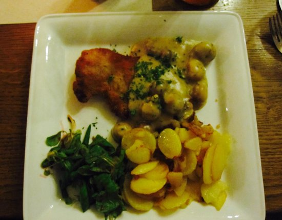Friends of Dave Tours: One of the lunch choices in Rostock