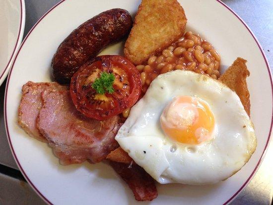 Bugle Inn : Breakfast